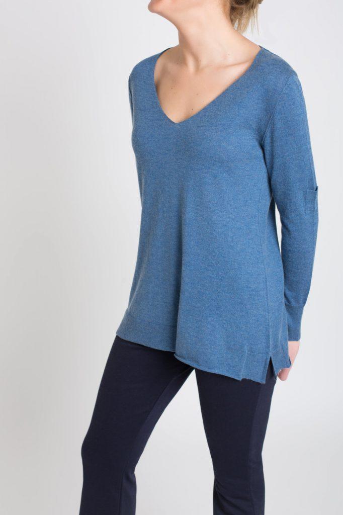 jersey fino de mujer