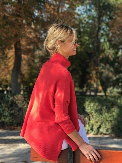 jersey-básico-cuello-alto-mujer