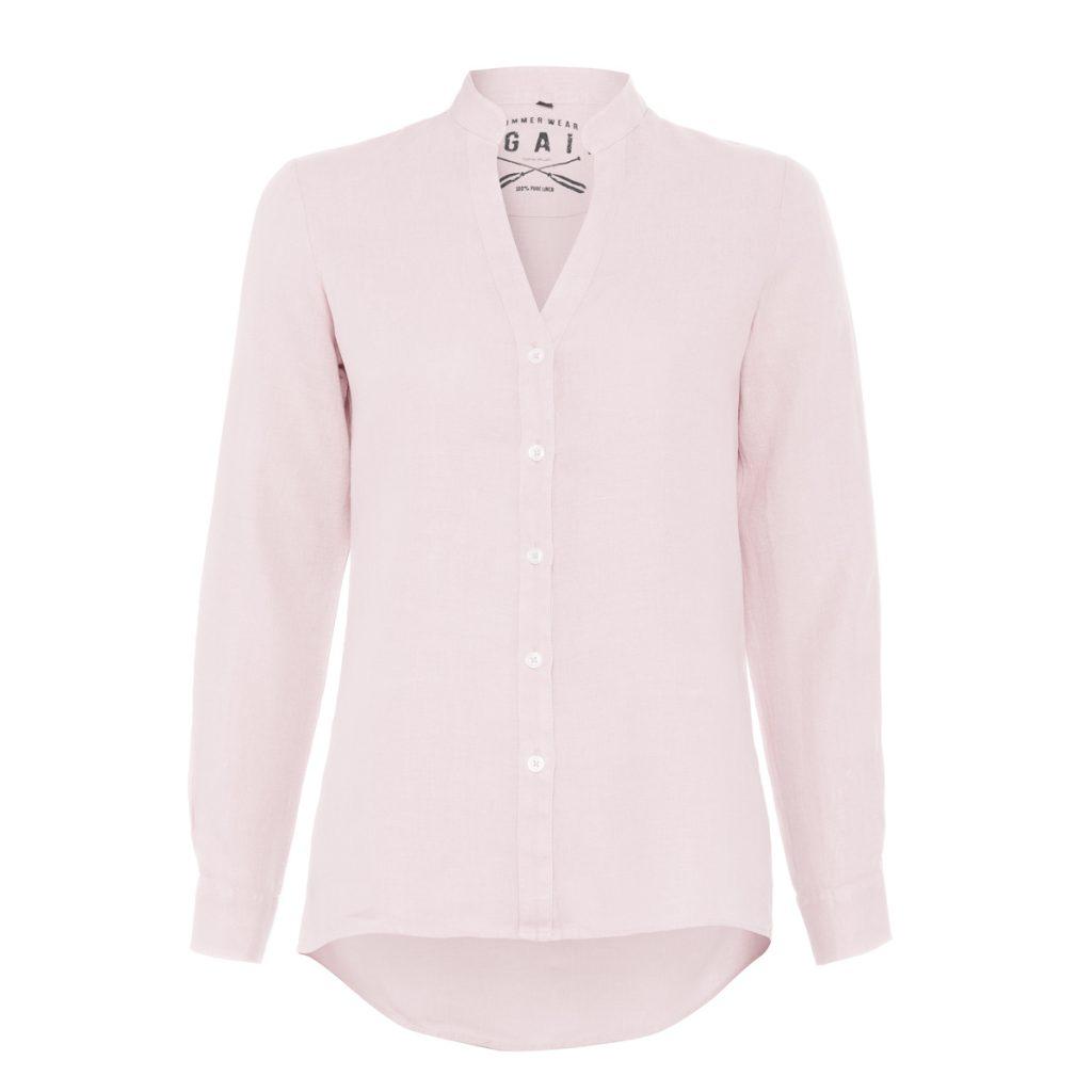 camisa de lino para mujer