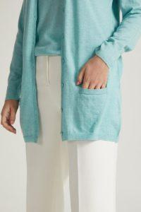 chaqueta de cashmere
